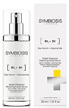 Парфюмерия и Козметика Възстановяващ серум за лице за сияйна кожа - Symbiosis London Delight Radiance Restoring Facial Serum