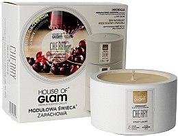 Парфюми, Парфюмерия, козметика Ароматна свещ - House of Glam Sweet Cherry Liquer Candle