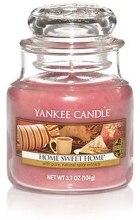 """Парфюми, Парфюмерия, козметика Ароматна свещ """"Дом мил дом"""" - Yankee Candle Home Sweet Home"""