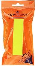 Парфюмерия и Козметика Пила за полиране 120/150, 74813, жълта - Top Choice Colours Nail Block