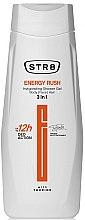 Парфюми, Парфюмерия, козметика Душ гел 3 в 1 - STR8 Energy Rush Invigorating Shower Gel 3 in 1