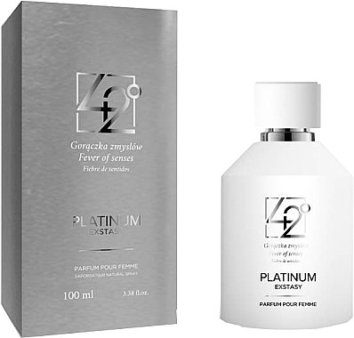 42° by Beauty More Platinum Extasy Pour Femme - Парфюмна вода — снимка N1