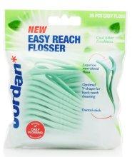 Парфюми, Парфюмерия, козметика Конец за зъби (коприна) - Jordan Easy Reach Flosser