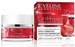 Парфюми, Парфюмерия, козметика Подхранващ крем против бръчки - Eveline Cosmetics Lift Hybrid 70+