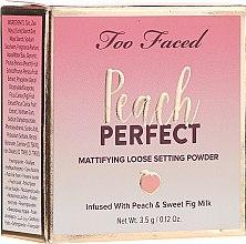 Парфюмерия и Козметика Насипна пудра за лице - Too Faced Peach Perfect Setting Powder Travel-Size
