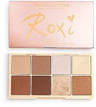 Парфюмерия и Козметика Палитра с контури и хайлайтъри - Makeup Revolution Roxxsaurus Roxi Highlight & Contour Palette