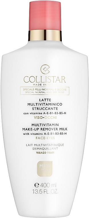 Мляко за отстраняване на грим от лице и очи - Collistar Multivitamin Make-Up Remover Milk — снимка N1