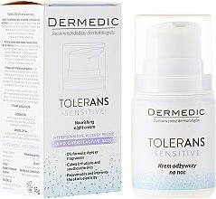 Парфюми, Парфюмерия, козметика Подхранващ нощен крем - Dermedic Tolerans Nourishing Night Cream