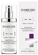 Парфюмерия и Козметика Локална терапия за лице S.O.S. против акне - Symbiosis London Targeted S.O.S Blemish Clearing Treatment
