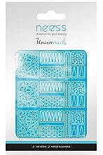 Парфюмерия и Козметика Декориращи лепенки за нокти, 3693 - Neess