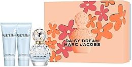 Парфюмерия и Козметика Marc Jacobs Daisy Dream - Комплект (парф. вода/50ml + лос. за тяло/75ml + душ гел/75ml)