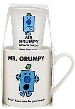 Парфюмерия и Козметика Детски комплект - Mr. Grumpy (душ гел/100ml + чаша)