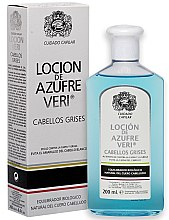 Парфюмерия и Козметика Лосион против косопад - Intea Azufre Veri Balance Lotion for Grey Hair