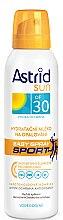 Парфюмерия и Козметика Хидратиращо слънцезащитно спрей мляко SPF 30 - Astrid Easy Spray Sports SPF 30
