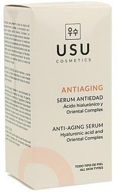 Антистареещ серум за лице - Usu Anti-Aging Serum — снимка N2
