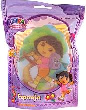 """Парфюмерия и Козметика Детска гъба за баня """"Дора"""", 169-10, жълта - Suavipiel Dora Bath Sponge"""