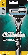 Парфюми, Парфюмерия, козметика Самобръсначка със 2 сменяеми части - Gillette Mach3