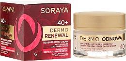 Парфюми, Парфюмерия, козметика Нощен крем за лице - Soraya Dermo Odnowa 40+ Cream