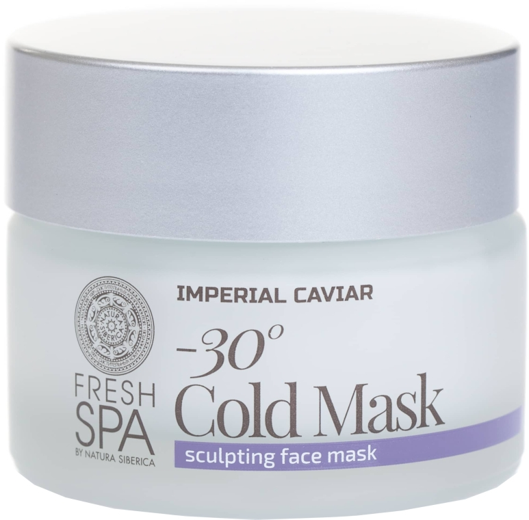 Моделираща маска за лице - Natura Siberica Fresh Spa Imperial Caviar Gold Mask