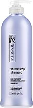 Парфюмерия и Козметика Шампоан против жълти оттенъци на побеляла и изсветлена коса - Black Professional Line Yellow Stop Shampoo