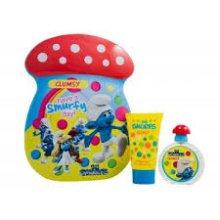Парфюмерия и Козметика Marmol & Son The Smurfs Clumsy - Комплект (тоал. вода/50ml + пяна за вана/75ml)