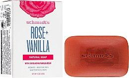 Парфюми, Парфюмерия, козметика Сапун - Schmidt's Naturals Bar Soap Rose Vanilla