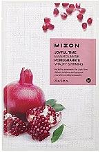 Парфюмерия и Козметика Маска от плат с екстракт от нар - Mizon Joyful Time Essence Mask Pomegranate