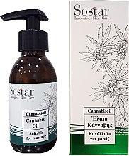 Парфюмерия и Козметика Масажно масло с екстракт от коноп - Sostar Cannabidiol Oil Cannabis Extract