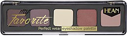 Парфюмерия и Козметика Палитра сенки за очи - Hean My favorite Eye Shadow Palette