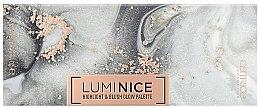 Парфюми, Парфюмерия, козметика Палитра за грим - Catrice Luminice Highlight & Blush Glow Palette