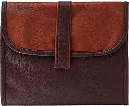 Парфюмерия и Козметика Мъжка козметична чанта , кафява - Avon