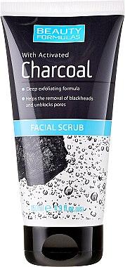 Дълбоко почистващ скраб за лице - Beauty Formulas Charcoal Facial Scrub