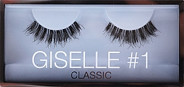 Парфюмерия и Козметика Изкуствени мигли №1 - Huda Beauty Giselle Lash 1