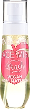 """Парфюмерия и Козметика Спрей за лице """"Праскова"""" - Nacomi Face Mist Peach"""