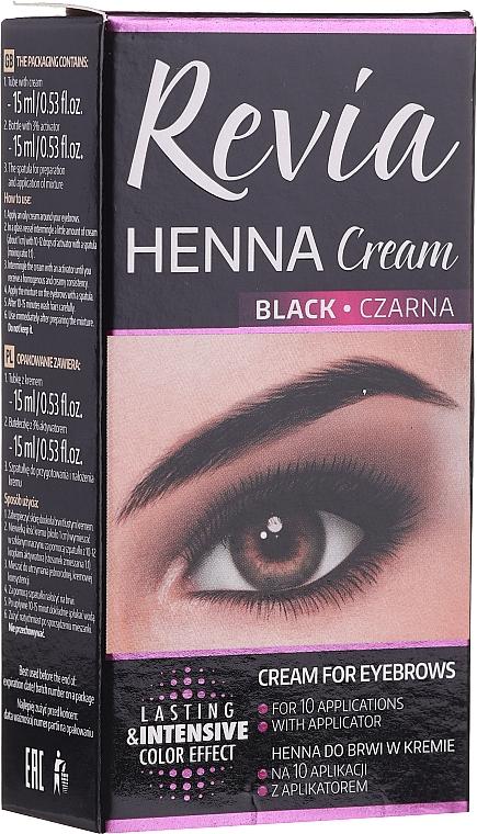 Боя за мигли и вежди - Revia Eyebrows Henna