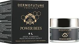 Парфюмерия и Козметика Защитен крем против бръчки - Dermofuture Power Bees Protective Anti-wrinkle Cream