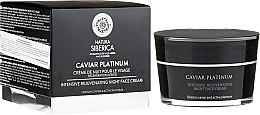 Парфюмерия и Козметика Интензивен възстановяващ нощен крем за лице - Caviar Platinum Intensive Rejuvenating Night Face Cream