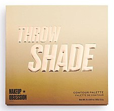 Парфюмерия и Козметика Палитра за контуриране - Makeup Obsession Throw Shade Contour Palette