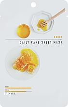 Парфюмерия и Козметика Подмладяваща маска за лице с екстракт от мед - Eunyu Daily Care Sheet Mask Honey