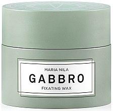 Парфюмерия и Козметика Моделиращ восък за коса със силна фиксация - Maria Nila Minerals Gabbro Fixating Wax