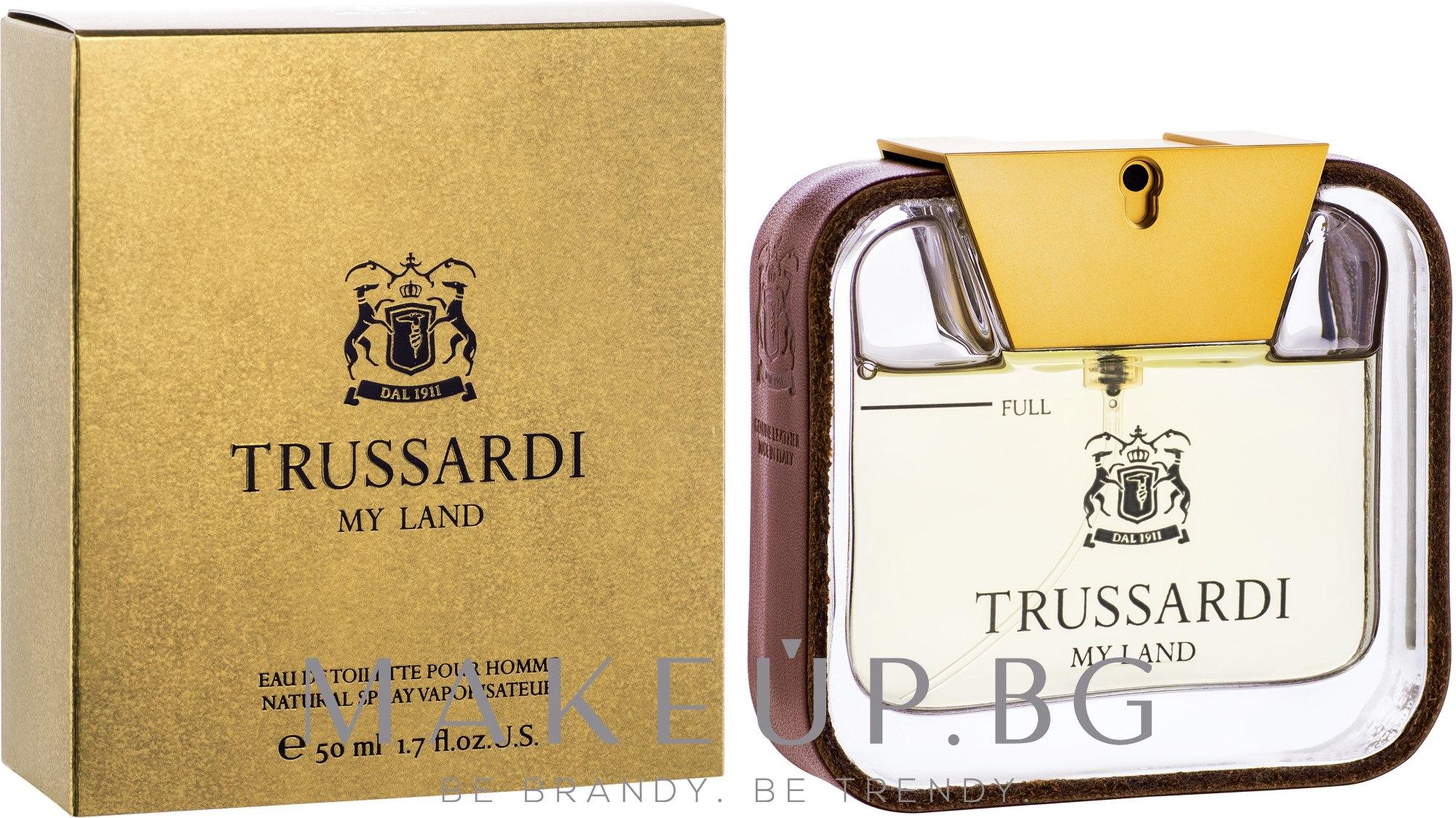 Trussardi My Land - Тоалетна вода — снимка 50 ml