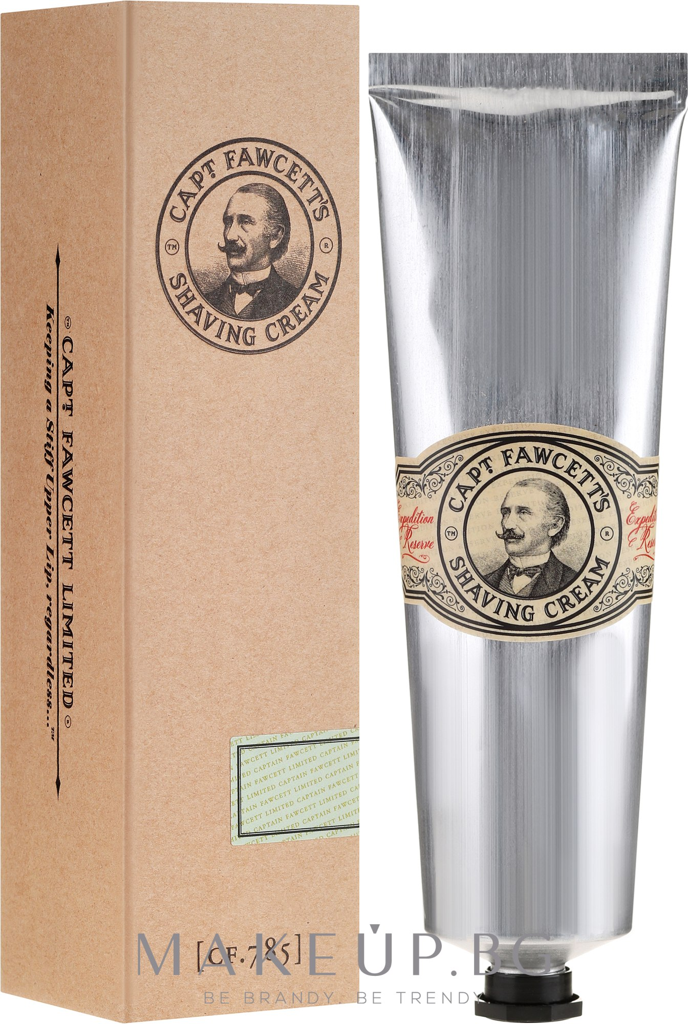 Крем за бръснене - Captain Fawcett Shaving Cream — снимка 150 ml
