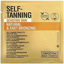 Парфюмерия и Козметика Автобронзиращи кърпички за лице за чувствителна кожа - Comodynes Self-Tanning Sensitive Skin