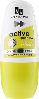 Дезодорант против изпотяване - AA Cosmetics Deo Anti-Perspirant Green Tea 24H