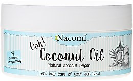 Рафинирано кокосово масло - Nacomi Coconut Oil 100% Natural Refined — снимка N1