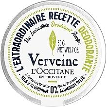 """Парфюмерия и Козметика Крем-дезодорант """"Върбинка"""" - L'Occitane Verbena Deodorant"""