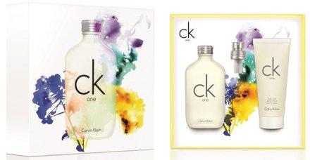 Calvin Klein CK One - Комплект (тоал. вода/50ml + душ гел/100ml) — снимка N1