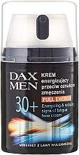 Парфюми, Парфюмерия, козметика Енергизиращ крем против признаци на умора - DAX Men Full Energy Energizing Cream 30+