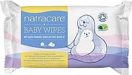 Парфюми, Парфюмерия, козметика Детские влажные салфетки - Natracare Organic Cotton Baby Wipes