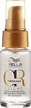 Парфюмерия и Козметика Леко масло за сияен блясък на косата - Wella Professionals Oil Reflection Light